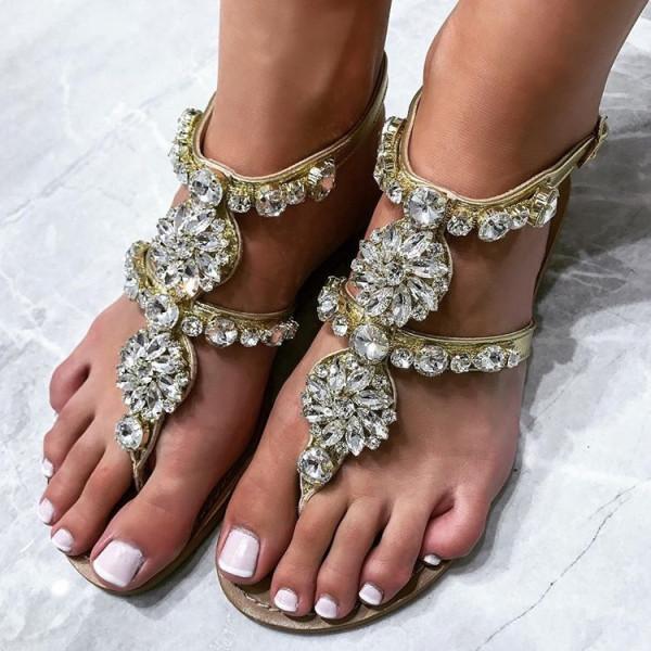 Milano kristalove sandale silver-134235-31