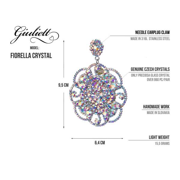 GIULIETT FIORELLA CZECH CRYSTAL SILVER-135445-20